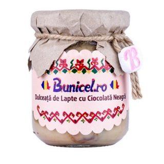 Dulceata De Lapte Si Ciocolata Neagra Produs Artizanal De Bunicelro