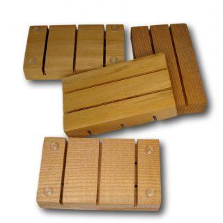Savoniera din lemn, sapuniera din lemn