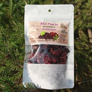 Mix Fructe De Padure Deshidratate 50g Aluneasa 2