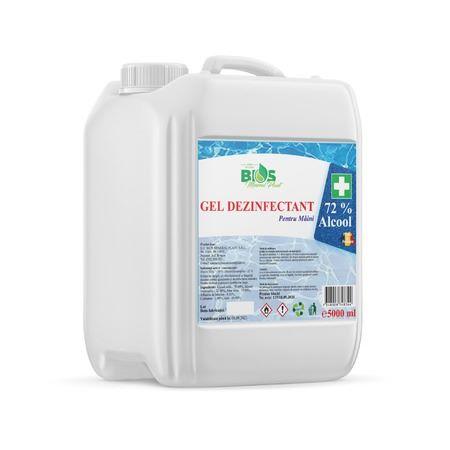 Gel Zezinfectant 5l Bios