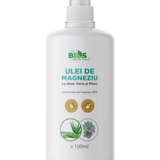 Ulei De Magneziu Cu Aloe Vera Si Mosc 100 Ml